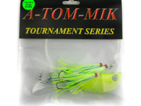 A-Tom-Mik Meat Rig Teaser - Rhys Davis - Chartreuse Splatter Glow (ATR-007)