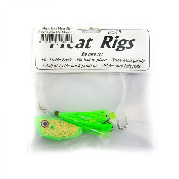 A-Tom-Mik Meat Rig Teaser - Rhys Davis - Green Glow UV (ATR-005) back