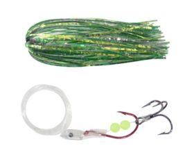 A-Tom-Mik Trolling Fly L202 Green Crinkle