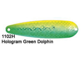 Dreamweaver Spoon Magnum Hologram Green Dolphin (1102h)
