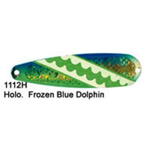 Dreamweaver Spoon Superslim Holographic Frozen Blue Dolphin (SS1112H)