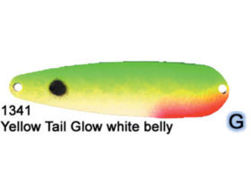 Dreamweaver Spoon Superslim Yellow Tail Glow (SS1341)
