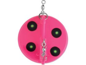 Luhr-Jensen Dipsy Diver #0 Small - Pink-Chartreuse UV (5560-000)