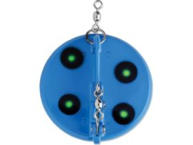 Luhr-Jensen Dipsy Diver #1 Large - Blue-Chartreuse UV (5560-001)