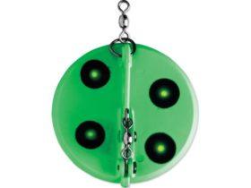 Luhr-Jensen Dipsy Diver #1 Large - Chartreuse-Green UV (5560-001)