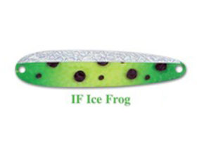 Michigan Stinger Spoon Stinger Ice Frog Glow (IF)