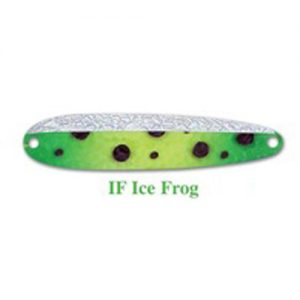 Michigan Stinger Spoon Stinger Ice Frog Glow (IF)