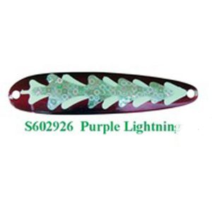 Michigan Stinger Spoon Stinger Purple Lightning Glow (S602926)