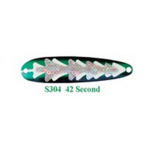 Michigan Stinger Spoon Stingray 42 Second Glow (NS304)