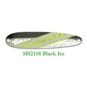 Michigan Stinger Spoon Stingray Black Ice Glow (NSH2118)
