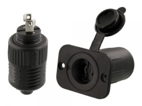 Scotty 12V Downrigger Plug and Receptacle from Marinco (2125)